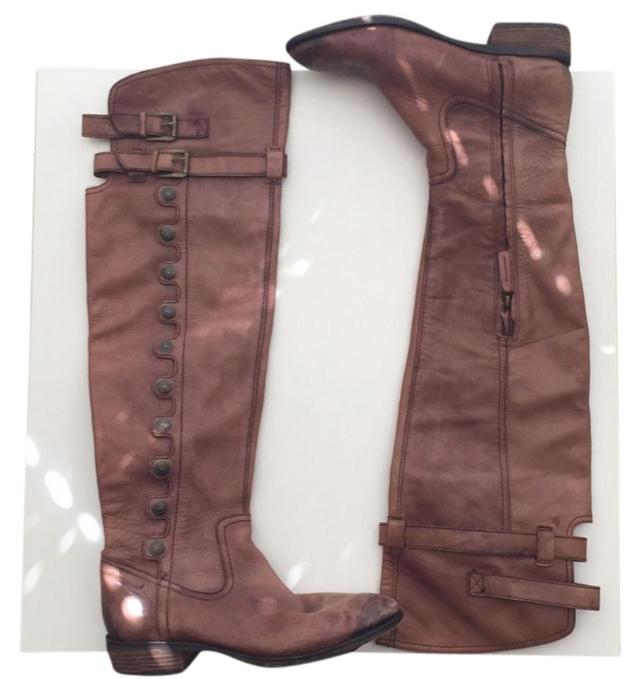 womens Sam Boots/Booties Edelman Distressed Brown Boots/Booties Sam Win highly appreciated f247f9