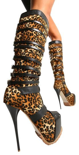 GIARO LEOPARD Boots
