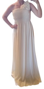 Modcloth Prom One Shoulder Chiffon Dress
