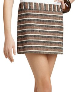 Theory Mini Mini Skirt Beige