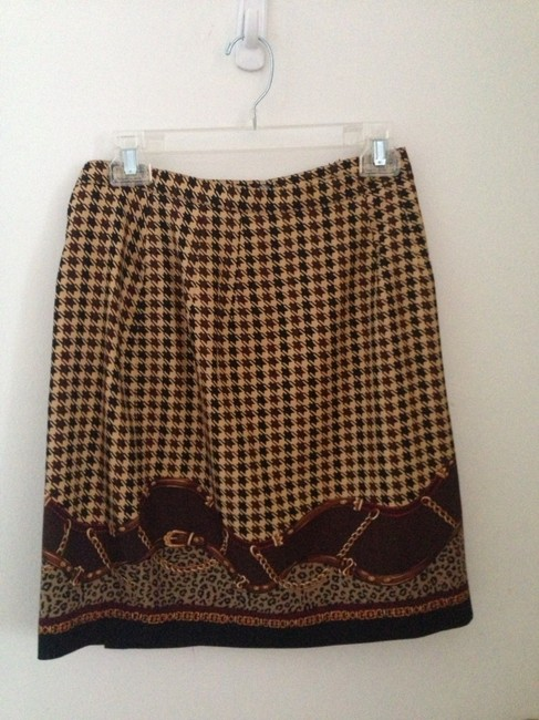 Preload https://item2.tradesy.com/images/talbots-brown-houndstooth-leopard-black-chain-beige-gold-size-petite-4-s-711071-0-0.jpg?width=400&height=650