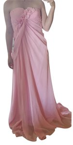 Prom Girl Strapless Chiffon Floor-length Dress