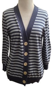 Boden Soft Blue V Neck 3/4 Sleeves Cardigan
