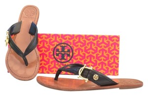 Tory Burch Nora Leather Black Sandals