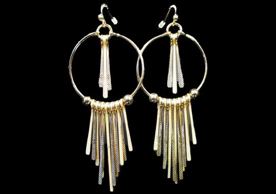 Other TEXTURED STICKS DANGLE EARRINGS