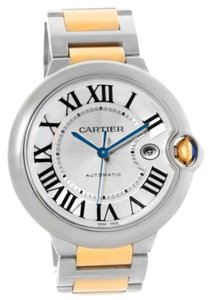 Cartier Cartier Ballon Bleu Steel Yellow Gold Automatic Mens Watch W69009Z3