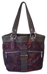 Tyler Rodan Handbag Diaper Large Fabric Man Made Materials Vegan Tote Deep Pockets Organize Shoulder Bag