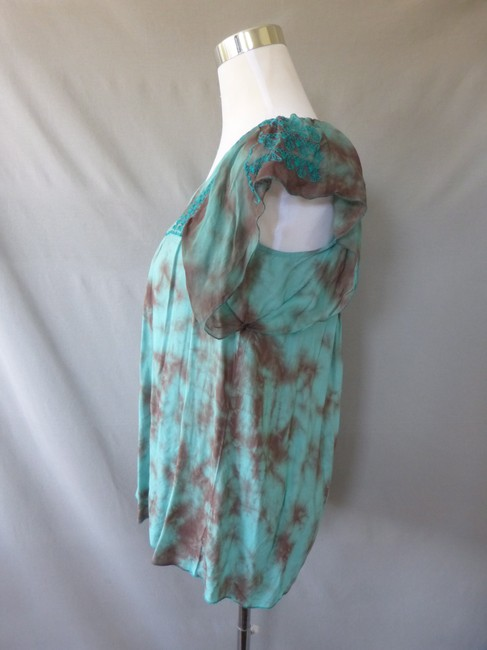 Live A Little Bohemian Tie Dye Tunic Top