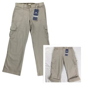 Lee 2in1 Capris Comfort Waist Cargo Pants Sand