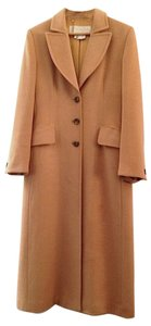 Escada Long Cashmere Silk Coat
