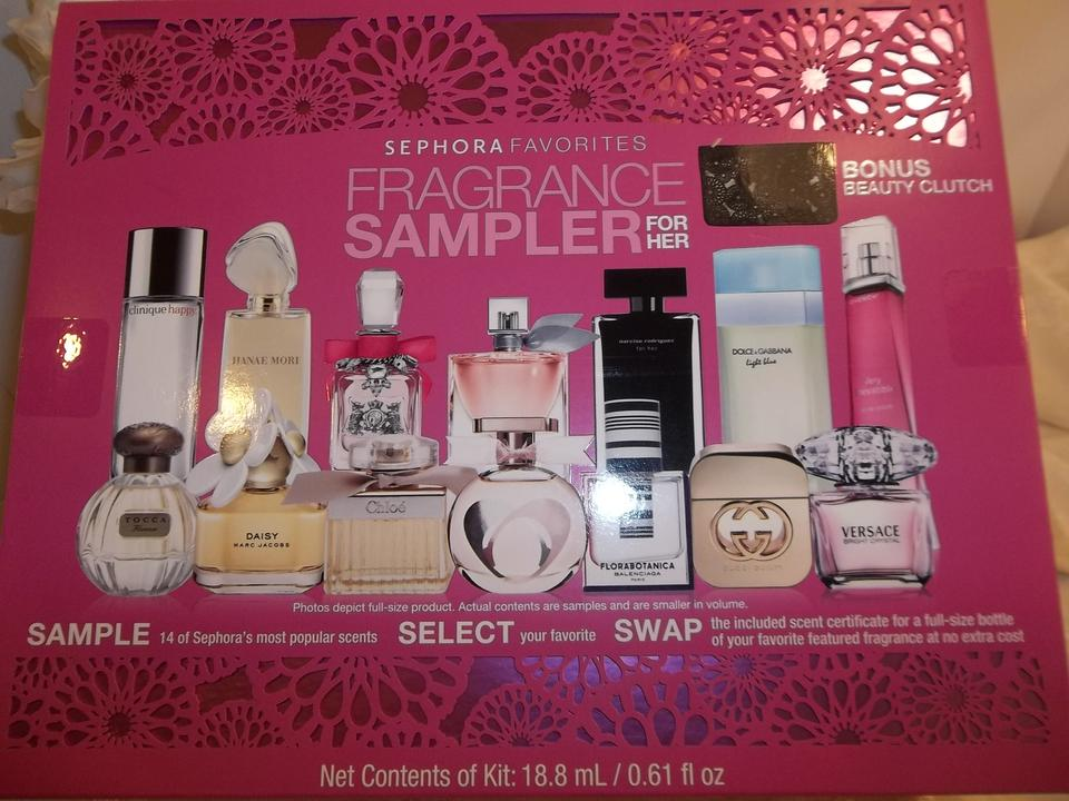 Sephora Favorites For Her Perfume Fragrance Sampler W O