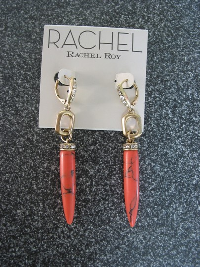 Rachel Roy Faux coral dangle