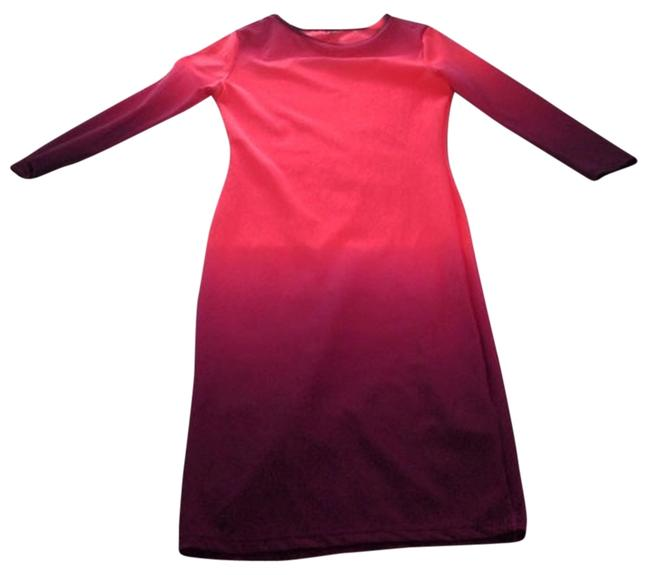Preload https://img-static.tradesy.com/item/711561/auditions-pink-ombre-mid-length-night-out-dress-size-2-xs-0-0-650-650.jpg