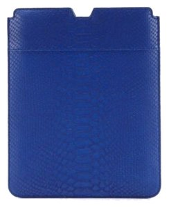 kNk Leather iPad Case in Prince William Royal Blue
