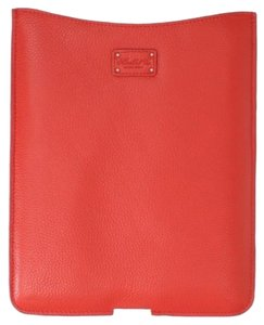 Morelle & Co Leather iPad Case in Poppy ~ NWB ~ Beautiful, Cushioned & Plush!