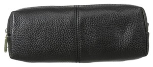 Zenith Leather Cosmetic Case ~ Black ~ NWT~ Your Makeup Case Needs Updating! So Pretty!