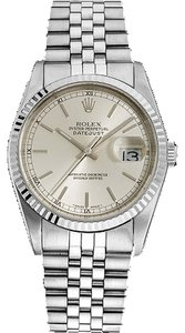 Rolex Rolex Datejust 16014 Stainless Steel Silver Dial Men's Watch