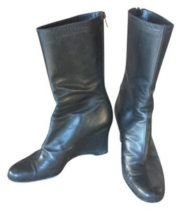 Yeohlee New york Wedge Black Boots