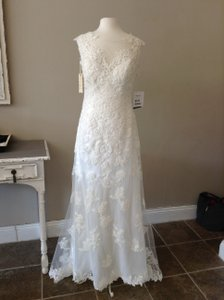 Sottero and Midgley All Ivory Lace/Silky Lining Francine Destination Wedding Dress Size 8 (M)