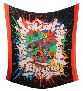 Hermès Graff by Kongo Graffiti Shawl