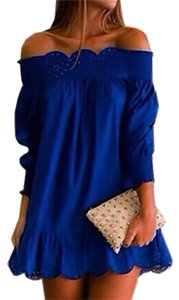 Blue Maxi Dress by Casual