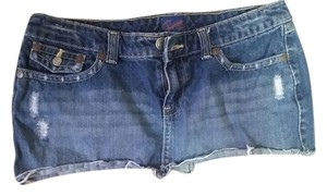 Aropostale Denim Mini Skirt Dark Denim