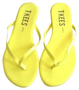 TKEES Yellow Sandals