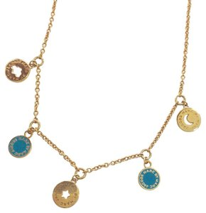 Marc by Marc Jacobs New Classic Marc Charm Coin Necklace