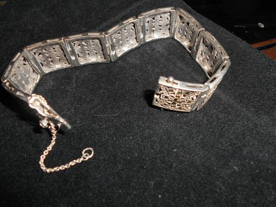 Other .925 SILVER Bracelet with Marcasite Stones