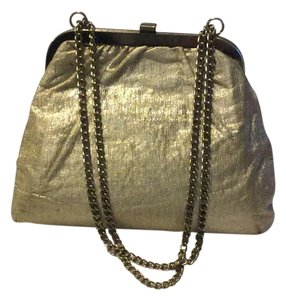 Satchel in Gold
