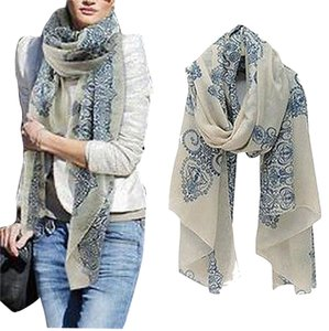 Urban Outfitters Cotton Voil Soft Wrap Scarf