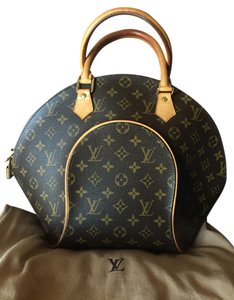 Louis Vuitton Monogram Tote in Brown and Cognac.