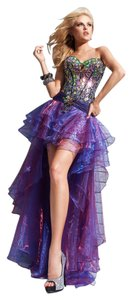 Tony Bowls Designer Sexy Ballgown Hi Prom Pageant Homecoming Dress