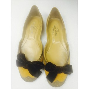 Valentino Yellow and brown Flats