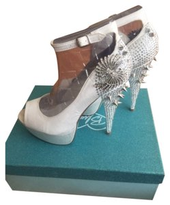 Betsey Johnson Ivory Platforms