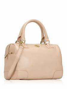 Tory Burch Satchel in Buff/Soft Pink