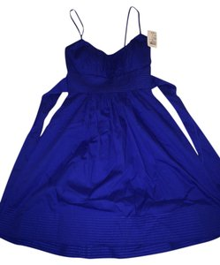 Windsor short dress Cobalt on Tradesy