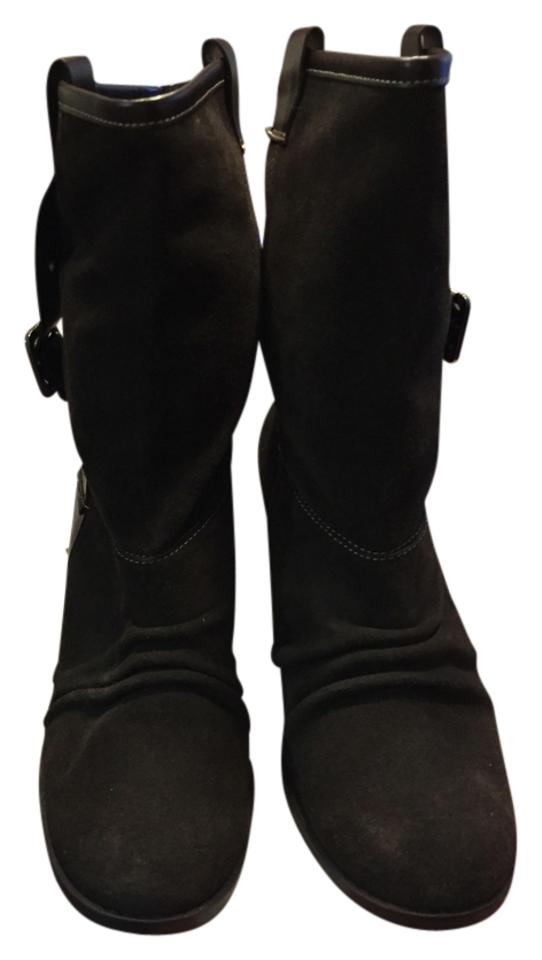 Nine & Co. Like Dark Brown Leather Upper Like Co. New Boots/Booties 781fb3