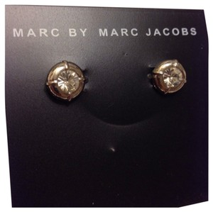 Marc by Marc Jacobs MARC BY MARC JACOBS Clear Stone Stud Earrings