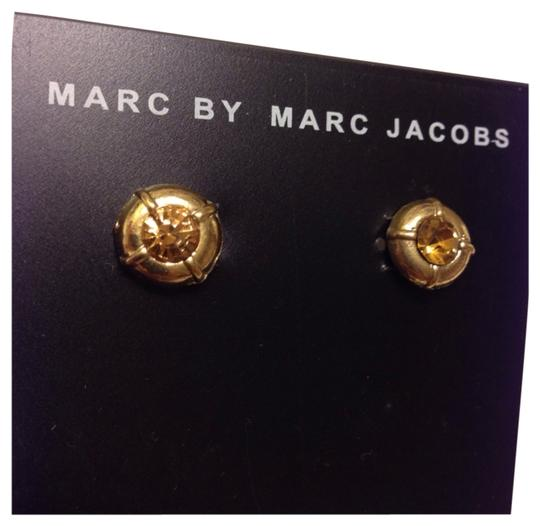 Marc by Marc Jacobs MARC BY MARC JACOBS Peach Stone Stud Earrings