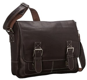 Latico Nwt Leather Mens Brown Messenger Bag