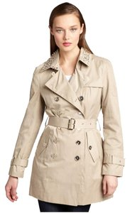 Sam Edelman Trench Studded Jackets Designer Luxury Coat