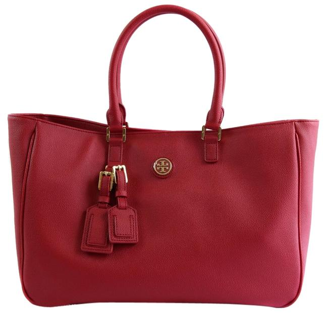 Item - Bag Roslyn 38159910 Red Leather Tote