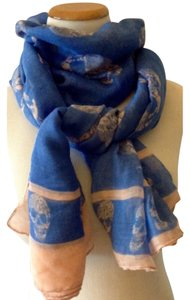 Other Skull Design Sheer Scarf
