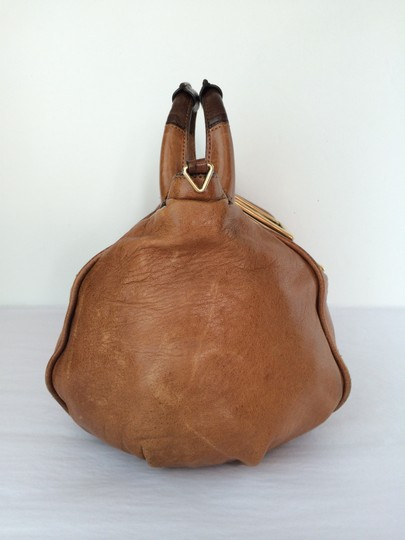 Chloé Ethel Leather Satchel in Nutmeg Brown Image 2