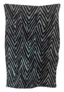 Charlotte Russe Bodycon Short Tight Sexy Mini Skirt Teal, black