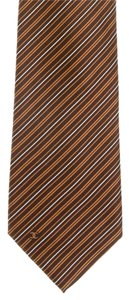 Chanel tie in brown