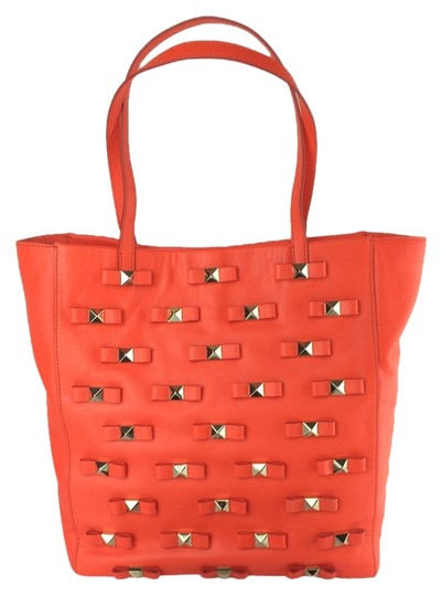 Preload https://img-static.tradesy.com/item/7124095/kate-spade-new-york-bow-terrace-tosha-maraschino-red-orange-leather-tote-0-2-540-540.jpg