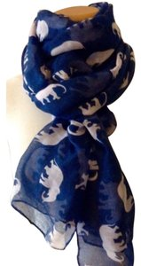 Other Elephant Print Scarf