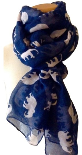 Other Elephant Print Scarf Image 0